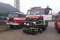 Dobrovolní hasiči na Střekově dostali nový vůz, má přezdívku Věrka.