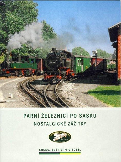 Parní železnicí po Sasku.