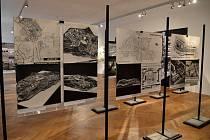 Výstava mapující historii zrodu sídliště Severní Terasa.
