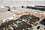 Tak by mohlo vypadat nové centrum na Střekově