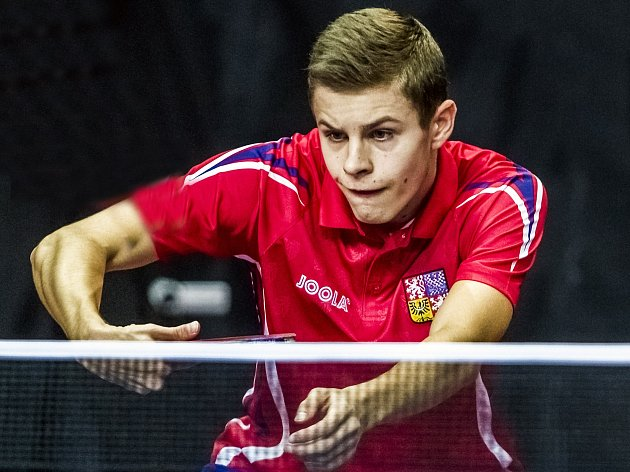 Stolní tenista Tomáš Polanský.