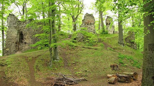 Hrad Děvín byl vybudován k ochraně obchodníků.