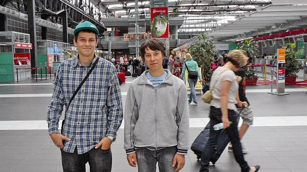 Předplatitel Ondřej Wölfel: Dostat se do zázemí letiště bylo super.