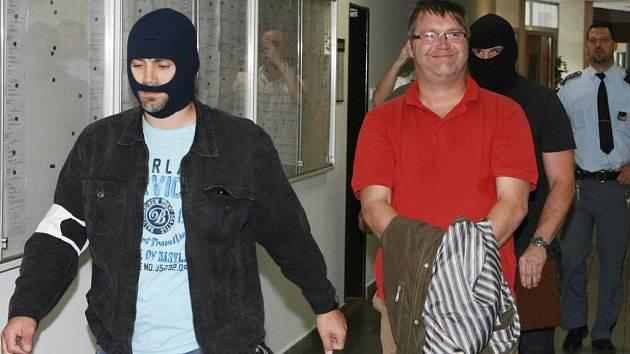 Pavel Markvart u soudu. Ilustrační foto,