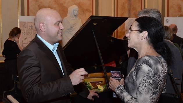 Klavírní virtuoz Michal Mašek.
