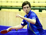 Stolní tenista ústeckého Slavoje Jakub Seibert.