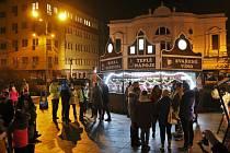 Vánoční trhy v Ústí nad Labem.