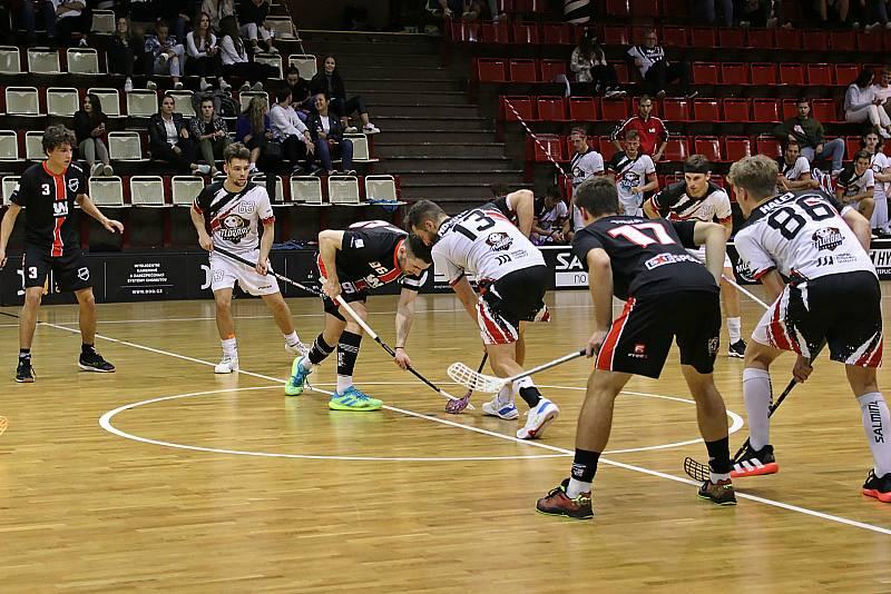 Florbal Chomutov - Florbal Ústí, I. liga 2021/2022.