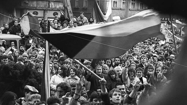 Listopad 1989 a generální stávka v Ústí nad Labem