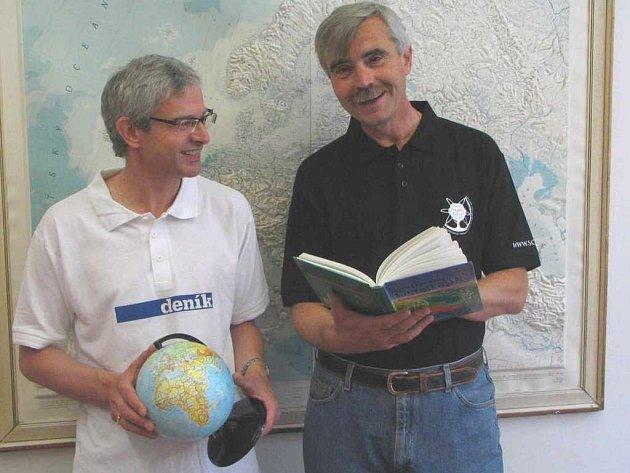 Milan Jeřábek a Petr Lauterbach vyjedou na trasu Ústí - Hamburk