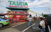 Obchodní centrum Tamda v ústeckých Všebořicích čeká na první zákazníky.