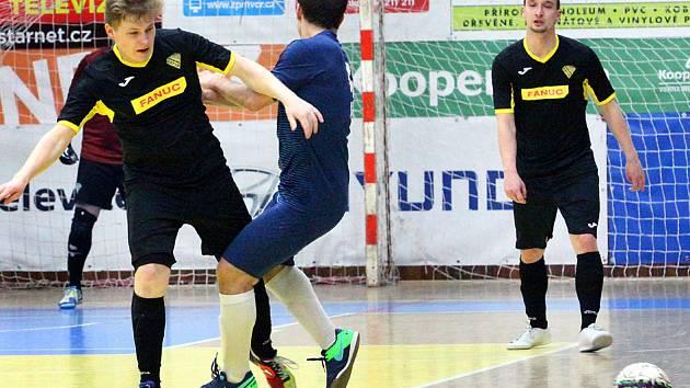 Galerie ze zápasu 18. kola 2. futsalové ligy.Rapid Ústí n. L. vs. GMM Jablonec n. N. Foto: Deník/Rudolf Hoffmann