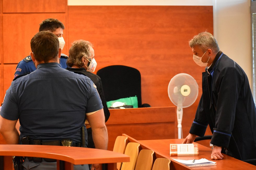 Jan Michalka u soudu