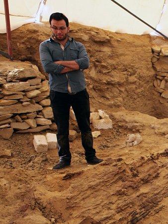 ARCHEOLOGICKÁ LOKALITA Abúsír vEgyptě.