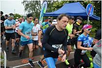 Na cyklostezce ve Svádově se běžel už pátý půlmaraton