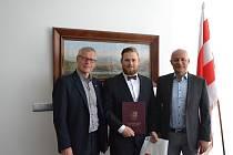 Karel Lank s představili města Ústí nad Labem