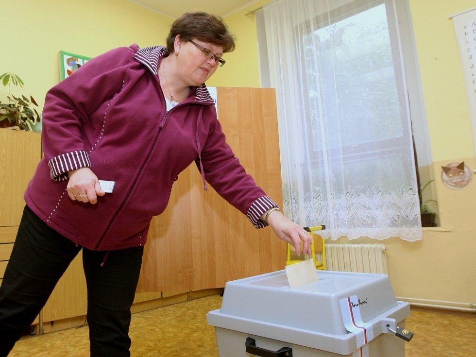 Komunální volby v Předlicích.