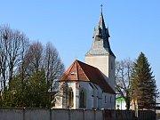 Kostel svatého Václava v Roudníkách.