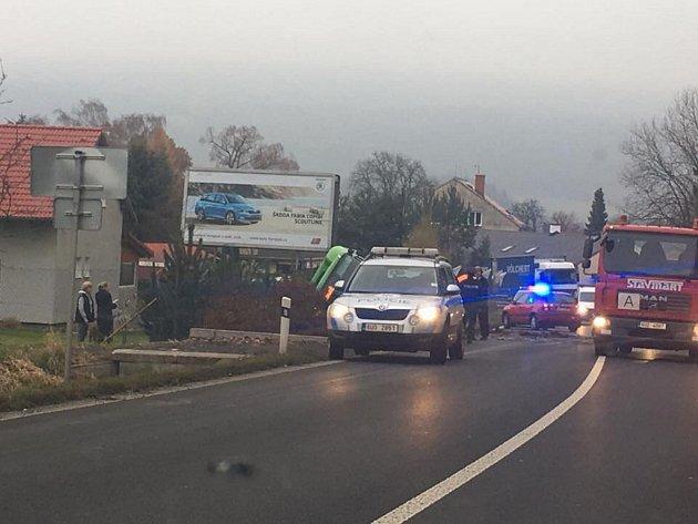 Nehoda autobusu uLibouchce.