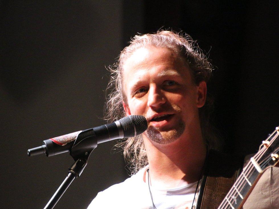 Koncert Tomáše Kluse v ústeckém Kulturáku.