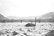 Povodeň ohrozila Ústí už před více než stovkou let.