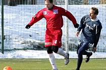 FK Ústí n/L (červení) : Arsenal Česká Lípa (modří).