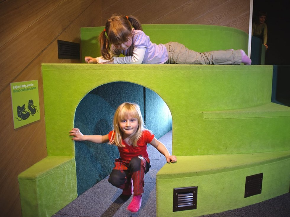 Z interaktivní expozice v Domě Českého Švýcarska v Krásné Lípě se těší hlavně děti.
