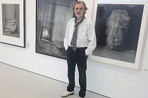 Pavel Baňka působí v Ústí dvacet let. Samostatně tu ale vystavuje poprvé.