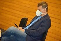 Krajský koordinátor očkování Aleš Chodacki zastupitelům oznámil, že rezignoval