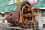 Glóbus z domu u ústeckého hlavního nádraží čeká rekonstrukce