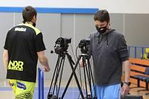 Pavel Houška (vlevo) odchází ze scény. Končí tím jeho soutěžní souboje za ústeckou Slunetu?