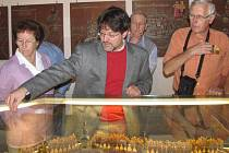 Návštěvníci mají možnost vidět ojedinělé exponáty