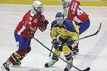 Ústečtí Lvi vyhráli v Třebíči 3:1 a jediná výhra je dělí od postupu do semifinále 1.ligy.