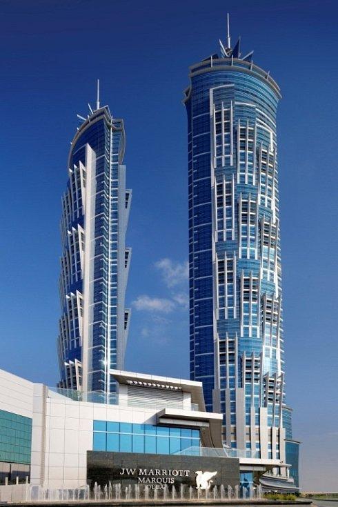 JW Marriott Marquis Dubai, Dubaj Spojené arabské emiráty – 355 m.