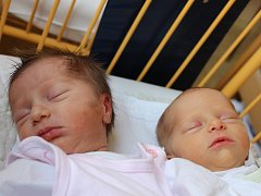 Klára a Veronika Vítovy se narodily v ústecké porodnici 20.3. (8.21 a 8.22) Lucii Vítové. Klára měřila 46 cm, vážila 2,48 kg. Veronika měřila 48 cm a vážila 2,66 kg.