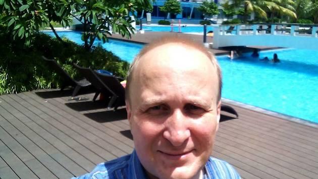 Bývalý redaktor Ústeckého deníku Vít Lukáš nyní žije ve Filipínách, kde v pátek zažil své první zemětřesení.