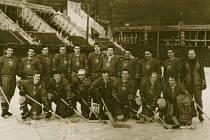 Společné foto hokejistů, 1968-69.
