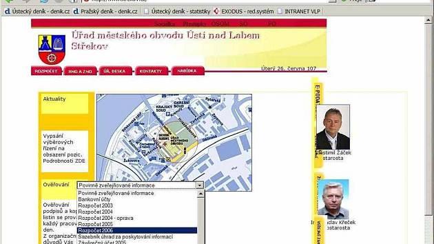 Web MO Střekov