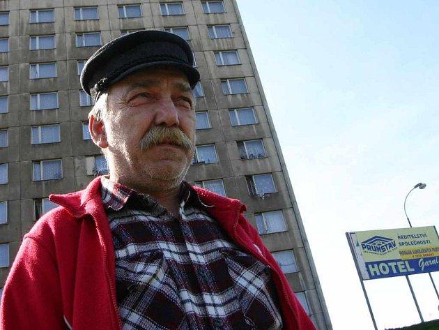 Údržbář Miloslav Šmejkal nemůže uvěřit