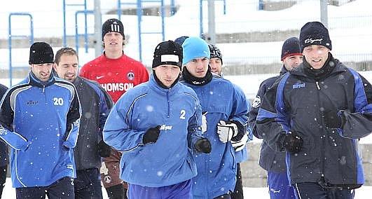 Zahájení zimní přípravy FK Ústí nad Labem.