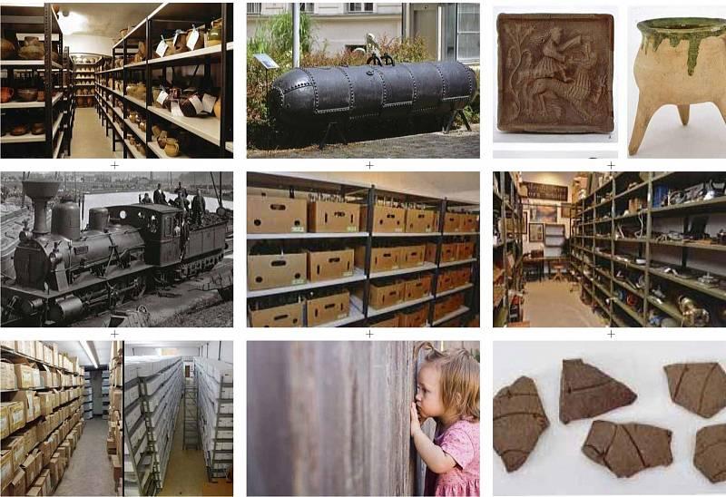 Ukázka sbírkových předmětů ústeckého muzea