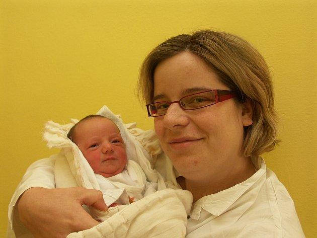 Martina Provazníková s dcerou Denisou (20.5.2008)