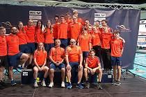 Plavci Ústecké akademie plaveckých sportů na MČR 2019 v Plzni.