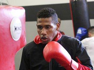 Kubánští boxeři při tréninku na Velkou cenu Ústí