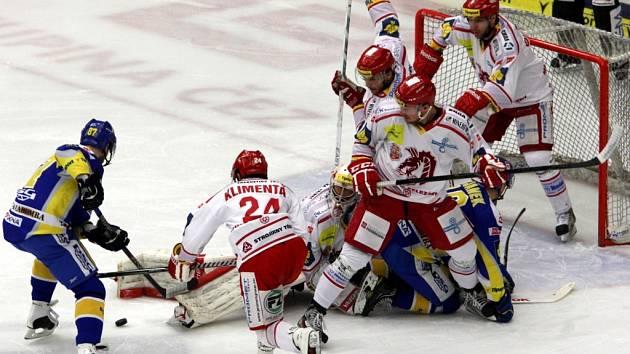 Hokej PSG Zlín - HC Oceláři Třinec