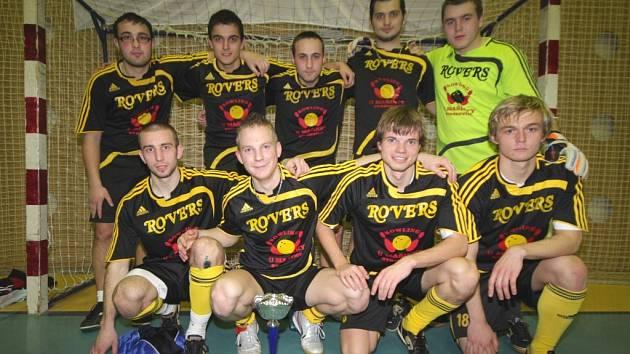 Vítězná sestava týmu Rovers.