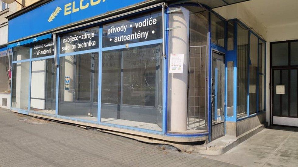 Prázdné provozovny ve Zlíně