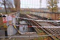 Most ve Zlíně - Prštném, odkud spadl devětadvacetiletý muž.
