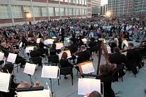 Filharmonie Bohuslava Martinů zahraje pod širým nebem ve Zlíně. Ilustrační foto
