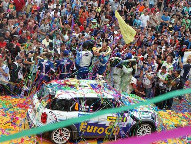 Barum Czech Rally Zlín 2014. Ilustrační foto.